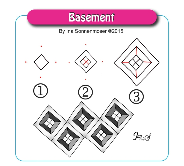 Zentangle Pattern Basement
