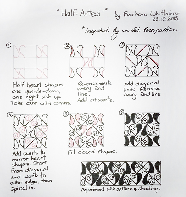 Half-Arted by Barbara Whittaker