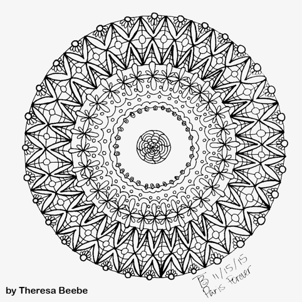 Mandala by Theresa Beebe