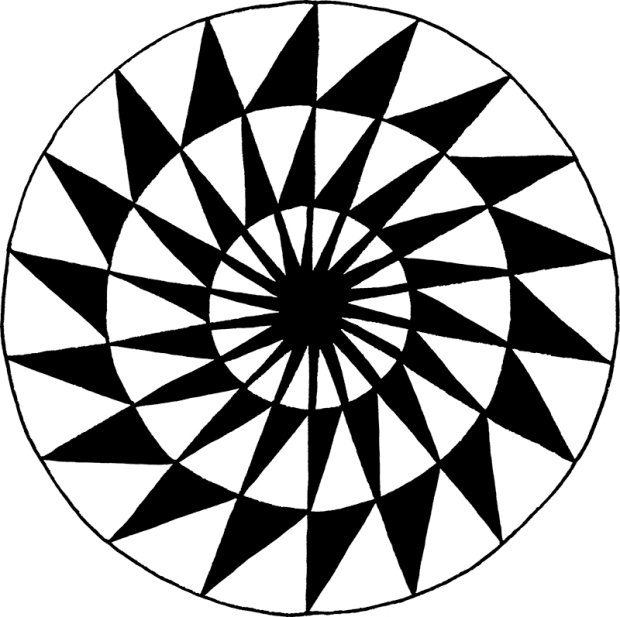 Pattern in the round