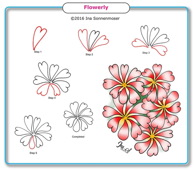 Flowerly by Ina Sonnenmoser
