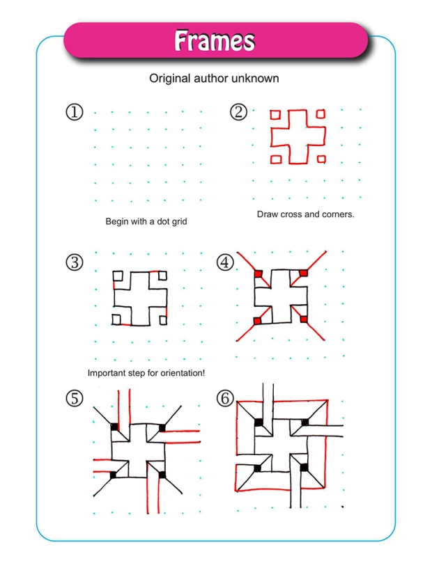 Frames pattern - Original author unknown